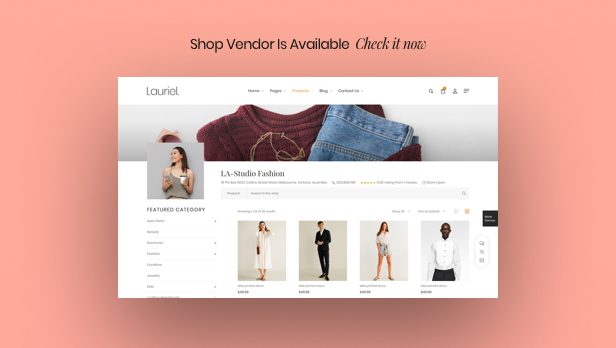 Lauriel – Multipurpose WooCommerce Theme - 4