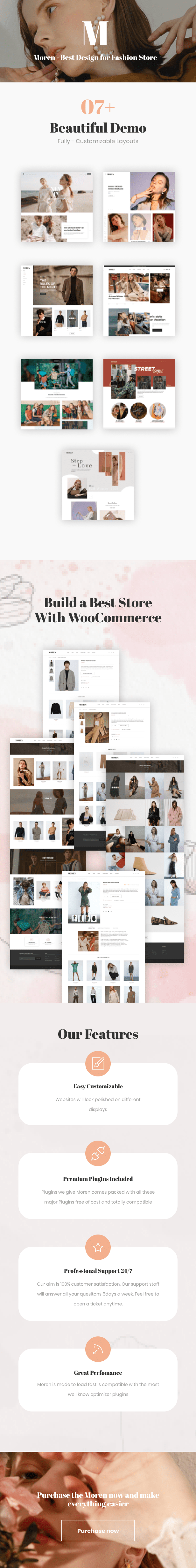 Moren - Fashion WooCommerce Theme